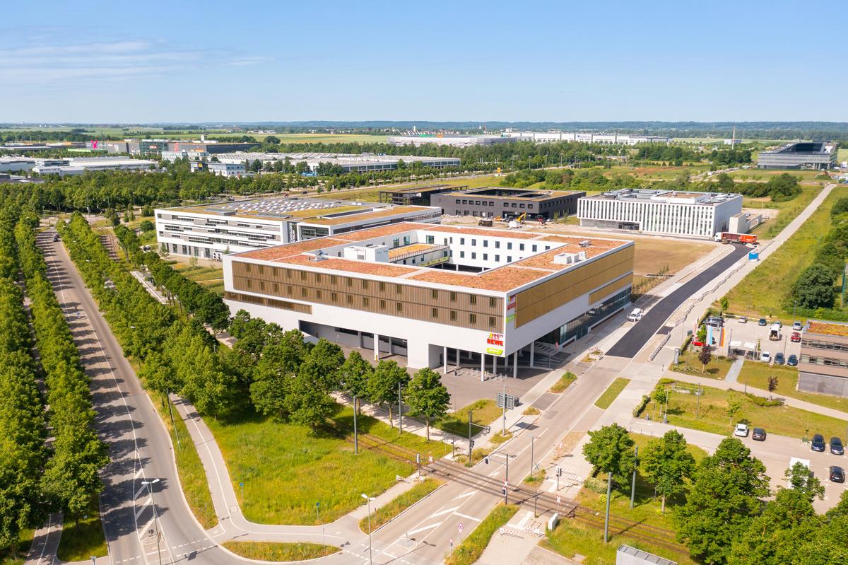 Luftaufnahme Innoviationszentrum Augsburg